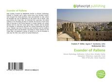 Bookcover of Evander of Pallene