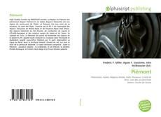 Capa do livro de Piémont