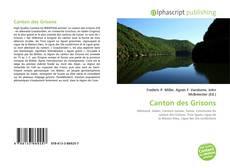 Bookcover of Canton des Grisons
