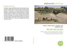 Обложка Duché de Savoie
