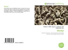 Bookcover of Martyr
