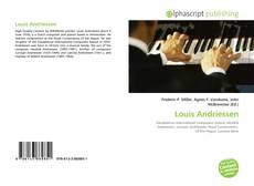 Buchcover von Louis Andriessen