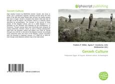 Couverture de Gerzeh Culture