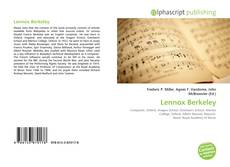Bookcover of Lennox Berkeley