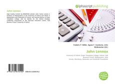 Bookcover of John Lennox