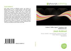 Bookcover of José Ardévol