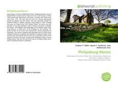 Bookcover of Philipsburg Manor