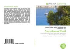 Greco-Roman World kitap kapağı