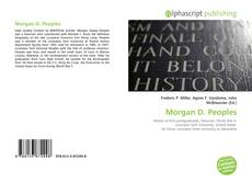Copertina di Morgan D. Peoples