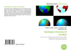 Copertina di Geological Society of London