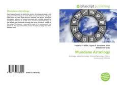 Обложка Mundane Astrology