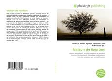 Bookcover of Maison de Bourbon