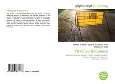 Portada del libro de Effective frequency