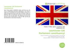 Bookcover of Leominster (UK Parliament constituency)