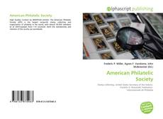 Bookcover of American Philatelic Society