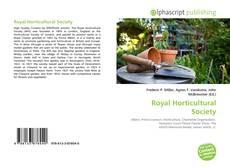 Portada del libro de Royal Horticultural Society