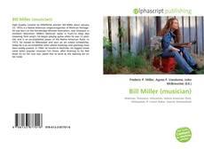 Bill Miller (musician) kitap kapağı