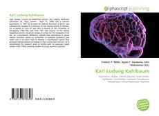 Copertina di Karl Ludwig Kahlbaum