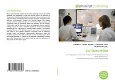 Bookcover of Lie Detection