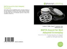Bookcover of BAFTA Award for Best Adapted Screenplay