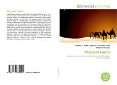 Bookcover of Maryam (sura)