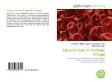 Bookcover of Eduard Friedrich Wilhelm Pflüger
