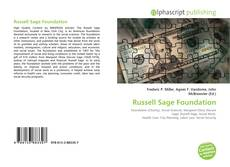 Bookcover of Russell Sage Foundation