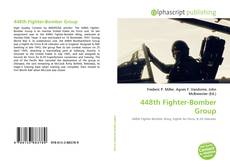 Portada del libro de 448th Fighter-Bomber Group