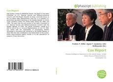 Bookcover of Cox Report