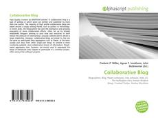 Bookcover of Collaborative Blog