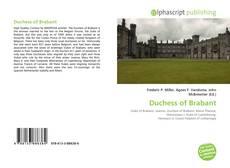 Borítókép a  Duchess of Brabant - hoz