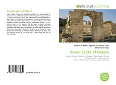 Couverture de Seven Sages of Greece