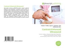 Capa do livro de Contrast-Enhanced Ultrasound