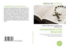 Liturgical Books of the Roman Rite的封面