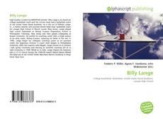 Capa do livro de Billy Lange