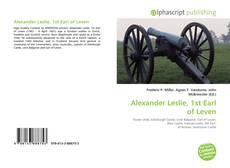 Portada del libro de Alexander Leslie, 1st Earl of Leven