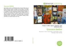 Giovanni Bellini kitap kapağı