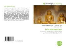Bookcover of Jain Monasticism