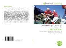 Brian Brohm kitap kapağı