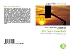 Capa do livro de Billy Taylor (Basketball)