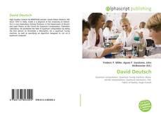 Buchcover von David Deutsch