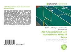 2009 Appalachian State Mountaineers Football Team kitap kapağı
