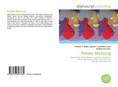 Bookcover of Fender Mustang