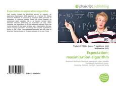 Bookcover of Expectation-maximization algorithm
