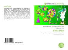 Buchcover von Ernst Öpik