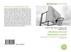 Matthew Driscoll (Basketball coach) kitap kapağı