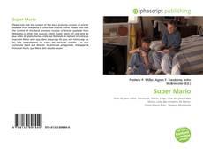 Capa do livro de Super Mario
