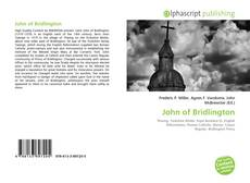 Обложка John of Bridlington