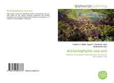 Capa do livro de Arctostaphylos uva-ursi