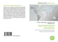 Bookcover of Droit International Humanitaire